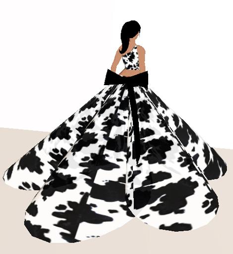 Moo Dress | D. Yvette Wohn