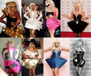 Lady Gaga's style is coherent
