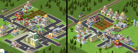 Even at the same level of the game, with access to the same items, you can see that people choose to design their virtual spaces very differently.