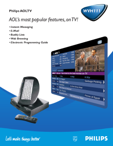 An advertisement for AOLTV. Click to enlarge.