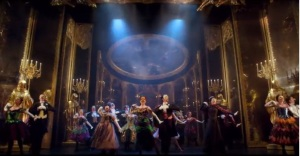 Masquerade scene from screenshot of trailer